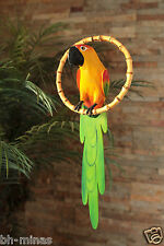 YELLOW AND GREEN PARROT -LUAU PARTY/TIKI BAR/ FOREST/RIO MOVIE-BEACH-POOL -MD