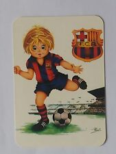CALENDARIO  FUTBOL CLUB BARCELONA 1998.