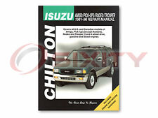 Isuzu Trooper Chilton Repair Manual LS SE Limited DLX RS Base XS Shop yg