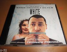 WHITE soundtrack CD julie delpy 3 COLORS TROIS COULEURS BLANC zbigniew PREISNER