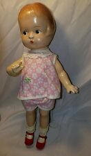 """14"""" KEWTY doll Vintage composition  Patsy-type doll"""