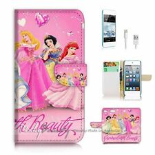 iPod Touch 6 iTouch 6 Flip Wallet Case Cover! P2179 Princess