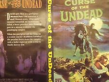 CURSE OF THE UNDEAD ON DVD