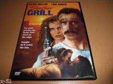 PETER WELLER rare DVD SUNSET GRILL Lori Singer STACY KEACH Alexandra Paul oop