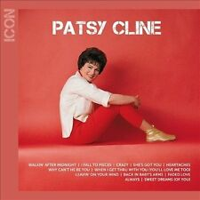 FREE US SH (int'l sh=$0-$3) NEW CD Patsy Cline: Icon: Patsy Cline