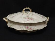 Theodore Haviland Limoges Round Covered Vegetable Dish SCHLEIGER 151-1