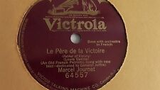 Marcel Journet- 78rpm single 10-inch – Victrola #64557 Le Pere De La Victoire
