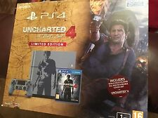 Playstation 4 PS4 uncharted 4 1TB special edition console neuf sans jeu