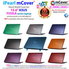 "NEW iPearl mCover® Hard Case for 15.6"" ASUS F555LA series Windows laptop"
