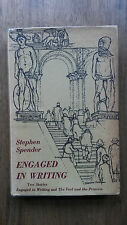 Stephen Spender – Engaged in Writing (1st/1st 1958 UK hb with dw)