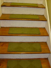 """13=STEP 9""""X 24"""" Stair Treads Staircase Step WOVEN CARPET +LANDING 24""""X 30"""""""