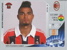 N°167 KEVIN-PRINCE BOATENG # GHANA MILAN.AC CHAMPIONS LEAGUE 2013 STICKER PANINI