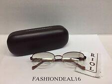 New Authentic Charriol Shiny Burgundy Frame Swarovski PC7214 C4 Eyeglasses