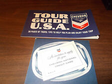1965 Chevron 20-Page USA Tour Guide With Credit Card Application