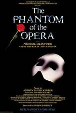 PHANTOM OF THE OPERA, THE (BROADWAY) Movie POSTER 27x40 Michael Crawford Sarah