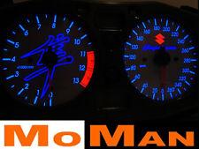 99-01 SUZUKI HAYABUSA glow gauges plasma dials speedo speedometer ziffernblätter