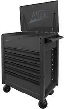 "35"" 7-Drawer Flip-Top Tool Cart, Black ATD-70401 Brand New!"