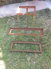 Vintage iron Battery Store Counter Display Cabinet Advertising rack stand