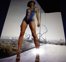 Sexy Milla Jovovich Resident Evil Hand Signed 11x14 Autographed Photo W/COA