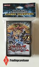 ♦Yu-Gi-Oh!♦ 70 Protèges Cartes Legendary Card Sleeves : Yugi, Joey et Kaiba