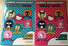 New Sanrio Characters Books - Scrap Book & Activity Book - Hello Kitty My Melody