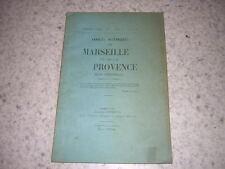 1903.annales historiques Marseille et Provence.N°1