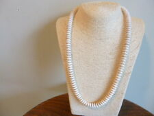 Amazing White  Turquoise And Silver Native American Style  Necklace