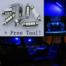 Canbus For Mini Cooper R56 07-10 Interior Package Kit LED Light Xenon Blue  TOOL
