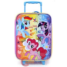 My Little Pony Rolling Luggage SuiteCase Travel Trolley Bag -Pony Rocks