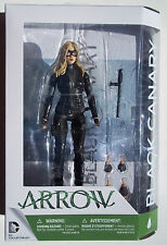 DC ARROW. BLACK CANARY ACTION FIGURE. NEW IN PACKAGE. 7 INCHES. CW TV SERIES