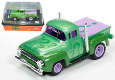 Auto World 4Gear R15 1956 Ford Pickup The Riddler Slot Car 1:64 / HO Scale