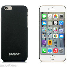 PeaPod Rock-Grip Series Textured Hard Case Cover for Apple iPhone 6 & 6s Black