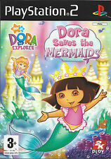 DORA SAVES THE MERMAIDS for Playstation 2 PS2 - PAL