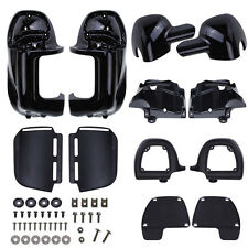 Lower Leg Fairing Vented  For Harley Touring Road King Electra Street Glide