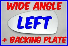 KIA RIO 2012+ WING MIRROR GLASS WIDE ANGLE LEFT + BACKING PLATE