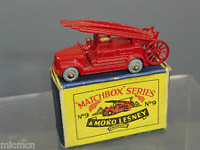 MATCHBOX  MOKO LESNEY MODEL  No.9b DENNIS FIRE ESCAPE     MIB