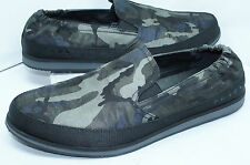 Prada Men's Shoes Sneakers Camouflage Nylon Slip On Size 7 Tennis Multi NIB
