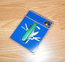 "Unbranded / Generic 3"" (inch) 7 Function Green Pocket Knife Only **NEW-READ**"