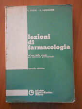 860E - LEZIONI DI FARMACOLOGIA ED. LIBRERIA CORTINA 1978