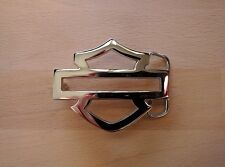 Harley Davidson Open Bar and Shield Belt Buckle