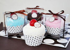 24 Towel Cupcake Personalized Bridal Baby Shower Favors