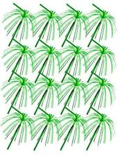 Green Foil Fringe Straws Pack of 20 St Patrick's Cocktail Accessories