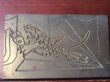 USAAF WW 2 Flying Tigers American Volunteer Group China Chinese Brass Sign