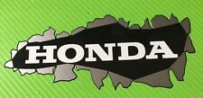 3D-effect Honda Burst Through Decals Stickers PAIR #103H