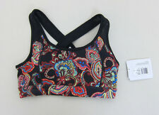 Jockey Activewear X Back Sports Bra - Womens Small - Paisley - NWT