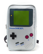 Nintendo Gameboy Mini Backpack Grey Geek Gamer School Bag Collectible