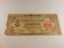 Philippines Emergency Currency Negros Bacolod - One Peso -# 102592