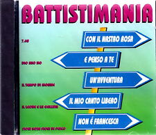 MASTERSOUND - Battistimania 1994 CD Nuovo SIGILLATO