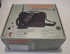 Technophone BC900-SoftPack Transportable Cellular Phone w/Case Vintage 90s