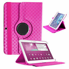 Rotating 3D/ Diamond Case Cover For Samsung Galaxy Tab 3 10.1 P5200 P5210